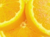 Juicy orange slices stock photos