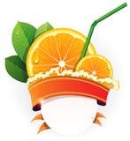 Juicy orange slices Stock Image