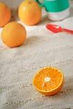 Juicy oranges Stock Image