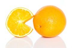 Juicy oranges Stock Photos