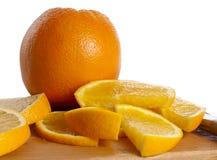 Juicy oranges Stock Photo