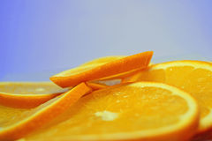 Juicy oranges stock photo