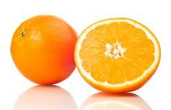 Juicy Oranges Refreshment Stock Photo