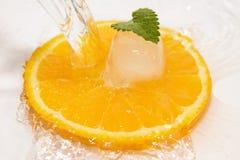 апельсин вода Royalty Free Stock Image