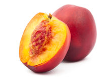 Juicy peach Royalty Free Stock Photos