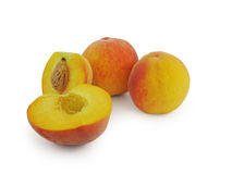 Juicy peach fruit Stock Photo