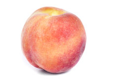 Juicy peach on a white Royalty Free Stock Photography