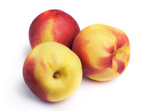 Juicy peaches Stock Photos