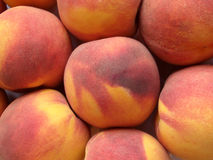 Juicy peaches. Several fresh juicy peaches for the breakfast Stock Images