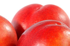 Juicy peachs. Royalty Free Stock Photos