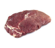 Juicy piece of raw beef Royalty Free Stock Photography