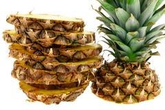 Juicy pineapple Stock Photo