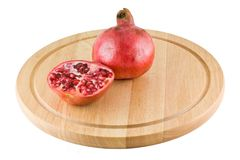 Juicy pomegranate Royalty Free Stock Photos