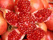 Juicy Pomegranate Background Royalty Free Stock Images
