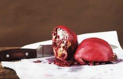 Juicy pomegranate Stock Image