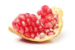 Juicy pomegranate Stock Photography