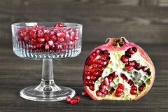 Juicy pomegranate Royalty Free Stock Images