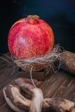 Juicy pomegranates . Royalty Free Stock Photography