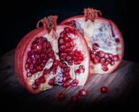 Juicy pomegranates . Stock Photos