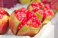Juicy pomegranates Royalty Free Stock Image