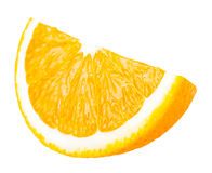 Juicy portion of orange Stock Photos