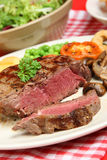 Juicy Rare Fillet Steak Dinner Royalty Free Stock Image
