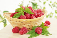 Juicy raspberries Royalty Free Stock Photo