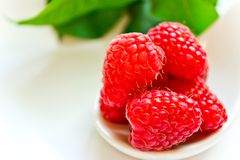 Juicy raspberry Stock Image