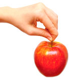 Juicy red apple Royalty Free Stock Image
