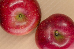 Juicy red apples Royalty Free Stock Images