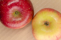 Juicy red apples Royalty Free Stock Image