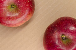 Juicy red apples Stock Image