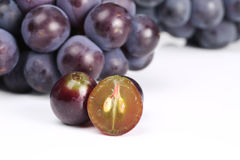 Juicy Red Grape Stock Photo