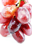 Juicy Red Grape Stock Photography