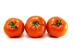 Juicy red ripe tomatoes Royalty Free Stock Image