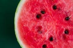 An sliced watermelon royalty free stock photos