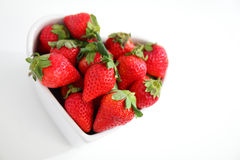 Juicy red strawberries Stock Photography