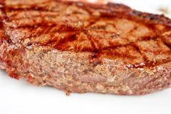 Juicy rib-eye beef steak Royalty Free Stock Photo