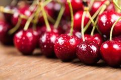 Juicy ripe cherry Royalty Free Stock Photo