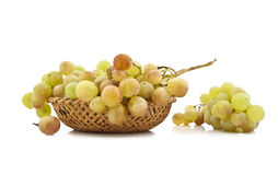 Juicy ripe clusters of grapes Stock Image