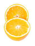 Juicy ripe cut oranges Royalty Free Stock Photography