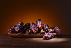 Juicy ripe dates royalty free stock image