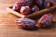 Juicy ripe dates royalty free stock photography