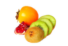 Juicy ripe fruit. Is isolated on a white background Royalty Free Stock Image