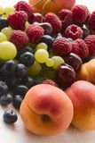 Juicy ripe fruits Stock Image
