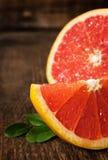 Juicy ripe grapefruit Stock Photos