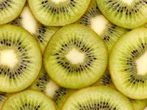 Juicy ripe green kiwi. Royalty Free Stock Image