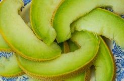 Juicy ripe honeydew melon Royalty Free Stock Photos
