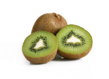 Juicy ripe kiwi Stock Images