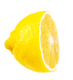 Juicy ripe lemon half Royalty Free Stock Photography
